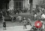 Image of riots Rome Italy, 1955, second 7 stock footage video 65675064680