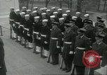 Image of dignitaries Arlington Virginia USA, 1957, second 3 stock footage video 65675064702