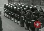Image of dignitaries Arlington Virginia USA, 1957, second 4 stock footage video 65675064702