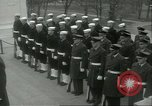 Image of dignitaries Arlington Virginia USA, 1957, second 5 stock footage video 65675064702