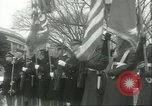Image of dignitaries Arlington Virginia USA, 1957, second 7 stock footage video 65675064702