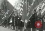 Image of dignitaries Arlington Virginia USA, 1957, second 10 stock footage video 65675064702