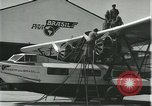 Image of Mechanics work on Consolidated Commodore flying boat Brazil, 1932, second 7 stock footage video 65675064725