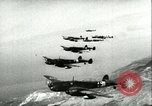 Image of German airplanes Mediterranean Sea, 1942, second 5 stock footage video 65675064773