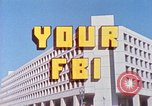 Image of Federal Bureau of Investigation Washington DC USA, 1977, second 11 stock footage video 65675064793