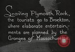 Image of tourists Brockton Massachusetts USA, 1924, second 2 stock footage video 65675064801