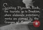 Image of tourists Brockton Massachusetts USA, 1924, second 3 stock footage video 65675064801