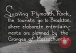 Image of tourists Brockton Massachusetts USA, 1924, second 4 stock footage video 65675064801