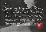 Image of tourists Brockton Massachusetts USA, 1924, second 8 stock footage video 65675064801