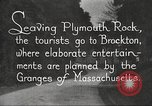 Image of tourists Brockton Massachusetts USA, 1924, second 10 stock footage video 65675064801