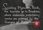 Image of tourists Brockton Massachusetts USA, 1924, second 12 stock footage video 65675064801
