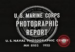 Image of United States Marines Arctic region, 1955, second 10 stock footage video 65675064862