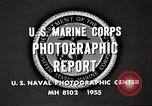 Image of United States Marines Arctic region, 1955, second 11 stock footage video 65675064862