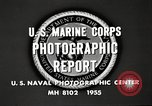 Image of United States Marines Arctic region, 1955, second 12 stock footage video 65675064862