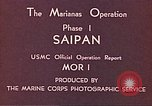 Image of American forces Saipan Northern Mariana Islands, 1944, second 2 stock footage video 65675064877