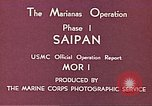 Image of American forces Saipan Northern Mariana Islands, 1944, second 3 stock footage video 65675064877