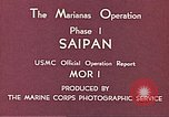 Image of American forces Saipan Northern Mariana Islands, 1944, second 4 stock footage video 65675064877
