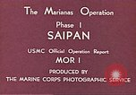 Image of American forces Saipan Northern Mariana Islands, 1944, second 6 stock footage video 65675064877