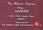 Image of American forces Saipan Northern Mariana Islands, 1944, second 7 stock footage video 65675064877
