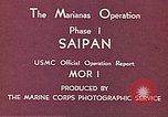 Image of American forces Saipan Northern Mariana Islands, 1944, second 9 stock footage video 65675064877