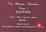 Image of American forces Saipan Northern Mariana Islands, 1944, second 10 stock footage video 65675064877