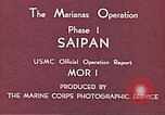 Image of American forces Saipan Northern Mariana Islands, 1944, second 12 stock footage video 65675064877