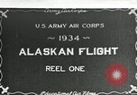 Image of US Army Air Corps Alaskan Flight Ohio United States USA, 1934, second 1 stock footage video 65675064900