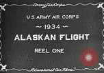 Image of US Army Air Corps Alaskan Flight Ohio United States USA, 1934, second 2 stock footage video 65675064900