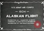 Image of US Army Air Corps Alaskan Flight Ohio United States USA, 1934, second 3 stock footage video 65675064900