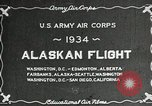 Image of US Army Air Corps Alaskan Flight Ohio United States USA, 1934, second 5 stock footage video 65675064900