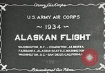 Image of US Army Air Corps Alaskan Flight Ohio United States USA, 1934, second 6 stock footage video 65675064900