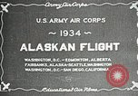 Image of US Army Air Corps Alaskan Flight Ohio United States USA, 1934, second 7 stock footage video 65675064900