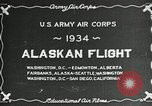 Image of US Army Air Corps Alaskan Flight Ohio United States USA, 1934, second 8 stock footage video 65675064900