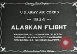 Image of US Army Air Corps Alaskan Flight Ohio United States USA, 1934, second 9 stock footage video 65675064900