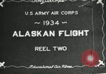 Image of Alaskan Flight Canada, 1934, second 2 stock footage video 65675064908