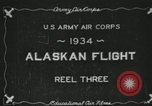 Image of USAAC photo-mapping mission Fairbanks Alaska USA, 1934, second 3 stock footage video 65675064918