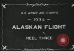 Image of USAAC photo-mapping mission Fairbanks Alaska USA, 1934, second 4 stock footage video 65675064918