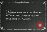 Image of SS Aleutian docks Juneau Alaska USA, 1928, second 3 stock footage video 65675064929