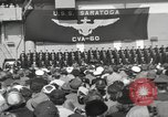 Image of USS Saratoga New York United States USA, 1956, second 2 stock footage video 65675064941
