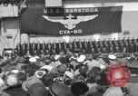 Image of USS Saratoga New York United States USA, 1956, second 3 stock footage video 65675064941
