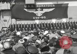 Image of USS Saratoga New York United States USA, 1956, second 4 stock footage video 65675064941