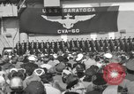 Image of USS Saratoga New York United States USA, 1956, second 10 stock footage video 65675064941