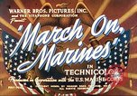 Image of March on Marines United States USA, 1940, second 4 stock footage video 65675064955