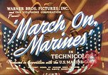 Image of March on Marines United States USA, 1940, second 5 stock footage video 65675064955