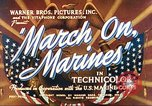 Image of March on Marines United States USA, 1940, second 6 stock footage video 65675064955