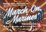 Image of March on Marines United States USA, 1940, second 7 stock footage video 65675064955