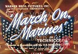 Image of March on Marines United States USA, 1940, second 8 stock footage video 65675064955