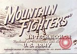 Image of Mountain Fighters Colorado United States USA, 1943, second 10 stock footage video 65675064970