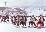Image of US Army mountain troops ski training Colorado United States USA, 1943, second 8 stock footage video 65675064971