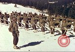 Image of US Army mountain troops ski Colorado United States USA, 1943, second 1 stock footage video 65675064972